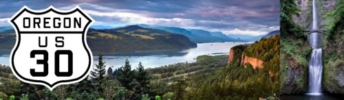 Columbia River Gorge - Famous Route