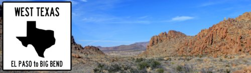 El Paso to Big Bend - Famous Route