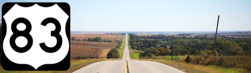 U.S. Route 83, ND to TX - Famous Route